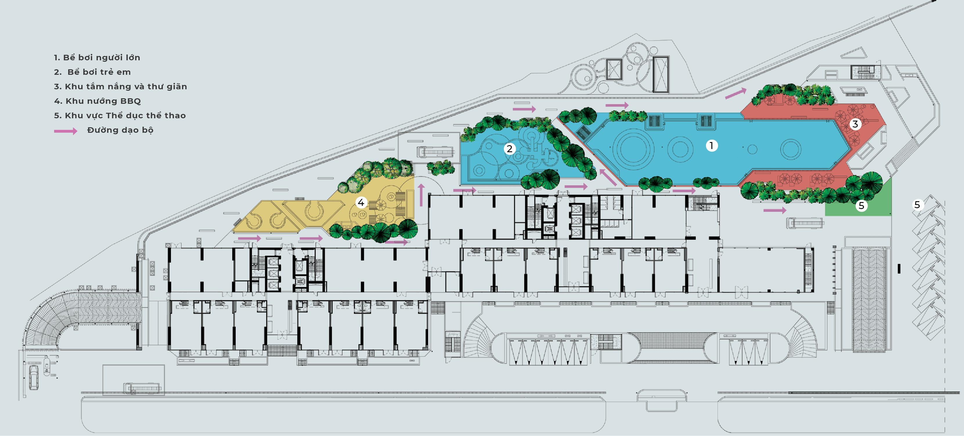 Mặt bằng thiết kế dự án Chung cư Anland 3